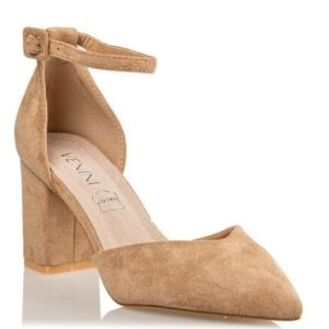 ANKLE STRAP SANDALS-S31-11718-90-Nude