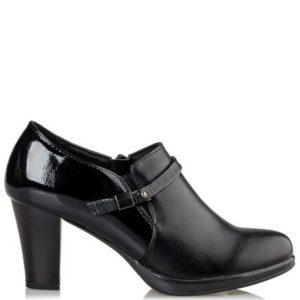 Miss NV-Ankle Boots-V63-12046-34-ΜΑΥΡΟ