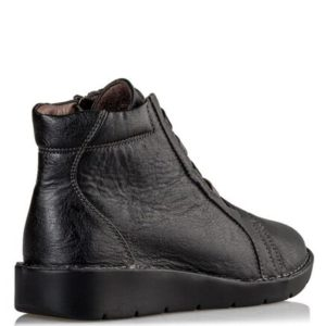 Miss NV-Casual Shoes-V63-12213-34-ΜΑΥΡΟ