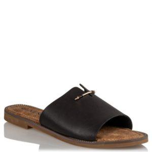 FLAT SANDALS - S19-13038-34 - Μαύρο
