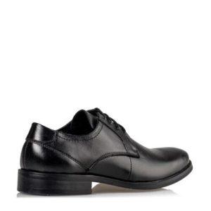 Ego Shoes-Δερμάτινα δετά-G12-12011-34-ΜΑΥΡΟ