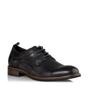 Ego Shoes-Δερμάτινα δετά-G99-12266-34-ΜΑΥΡΟ