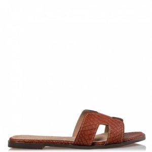 Miss NV-Flat Sandals-V84-11991-26-ΚΑΜΕΛ