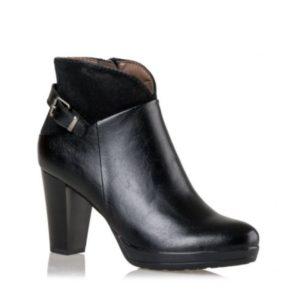 Miss NV-Ankle Boots-V63-08712-34-ΜΑΥΡΟ