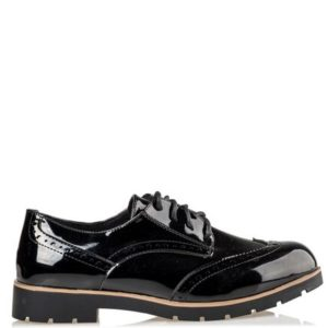 Shiny Oxfords Model S15-12961-34 Μαύρο