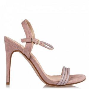 Miss NV-Stiletto sandals-V54-11671-13-ROSEGOLD