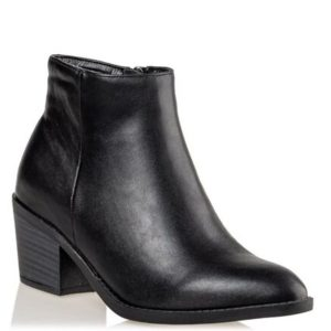 Miss NV-Western Booties-V33-12244-34-ΜΑΥΡΟ