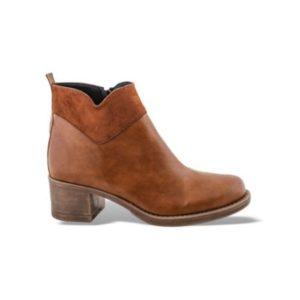 Zak Shoes-Δερμάτινο Μποτάκι-GK3351-ΤΑΜΠΑ
