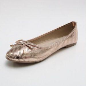Zak Shoes-Μπαλαρίνα-TDKAN18-002-220-ΧΑΛΚΙΝΟ