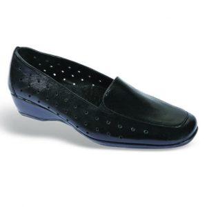 Zak Shoes-Loafer Δερμάτινο Και Ανατομικό-SO519-ΜΑΥΡΟ