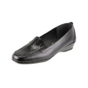 Zak Shoes-Loafer Δερμάτινο Και Ανατομικό-SO520-ΜΑΥΡΟ