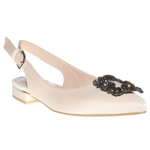 ENVIE POINTY FLAT PUMPS NUDE-E02-11005-90-NUDE