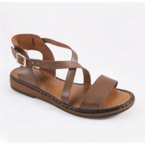 Klio- Thileon Sandals - Γυναικείο Δερμάτινο Πέδιλο Safe Step-Thileon-1204-ΤΑΜΠΑ
