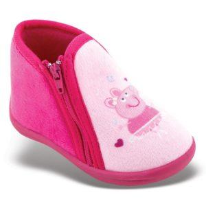 Zak Shoes-Παιδικά Παντοφλάκια-42-115-ΦΟΥΞΙΑ