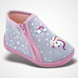 Zak Shoes-Παιδικά Παντοφλάκια-42-116-ΓΚΡΙ