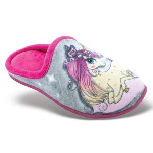 Zak Shoes-Παιδικά Παντοφλάκια-42-126-ΓΚΡΙ