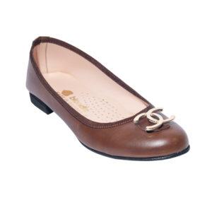 Zak Shoes-Γυναικείες Μπαλαρίνες-KS23-ΚΑΦΕ