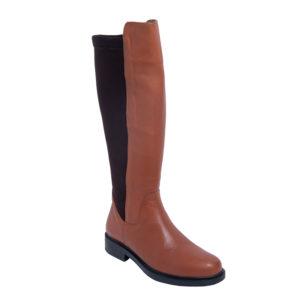 Safe Step-Γυναικείες Δερμάτινες Ανατομικές Μπότες-40202-ΤΑΜΠΑ