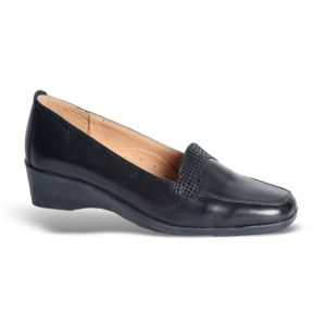 Zak Shoes-Γυναικείο Μοκασίνι-SO538-ΜΑΥΡΟ